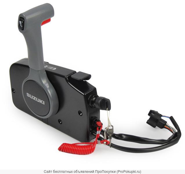 Винт гребной на лодочный мотор, рулевое и дистанционное управление