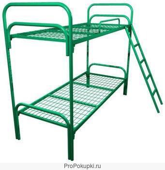 Металлические кровати от производителя, кровати для пансионата, кровати для студентов, общежитий