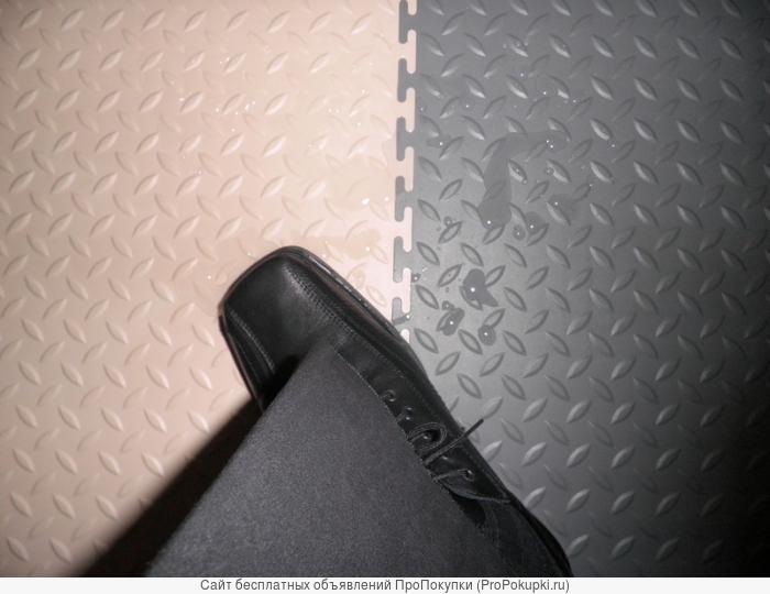Модульная плитка ПВХ Унипол - сборные полы из пластика