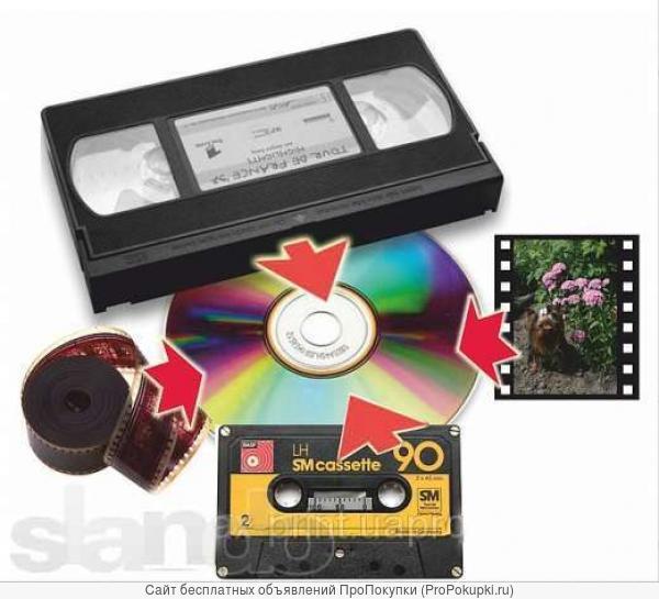 Перезапись видеокассет на Dvd-диски