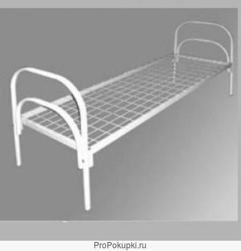 Металлические кровати медицинские, кровати для турбазы, кровати для санатория, кровати для строительных бытовок
