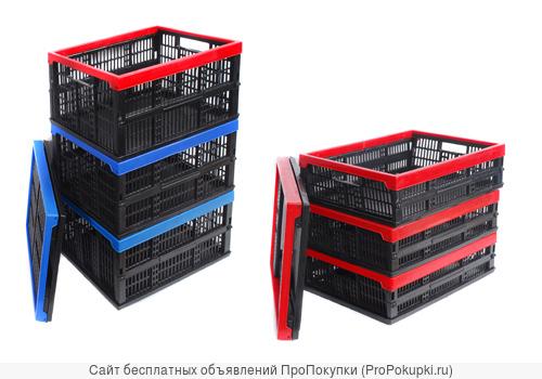 Пластмассовые складные ящики
