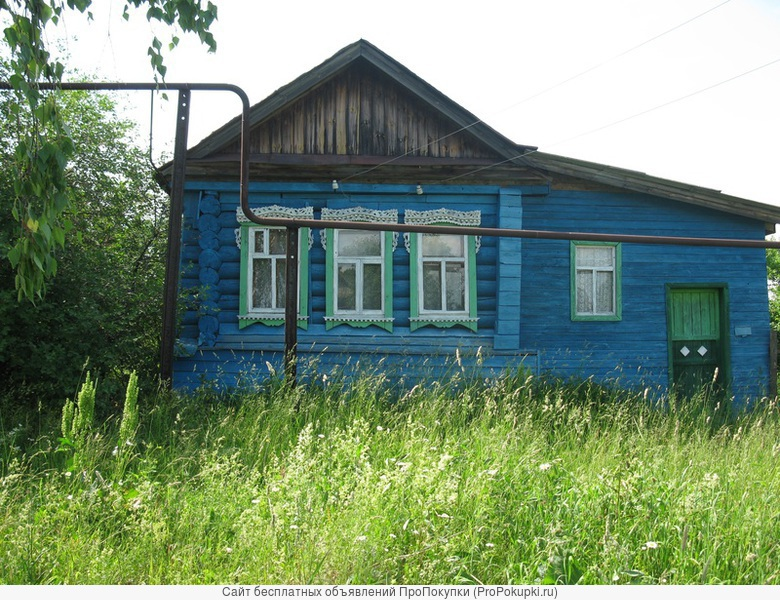 Продается дом с участком 50 сот и газотоплением
