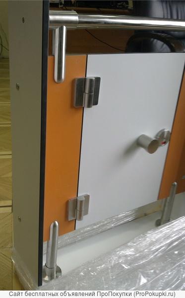 Фурнитура монтажная нержавеющая для туалетных перегородок и кабин