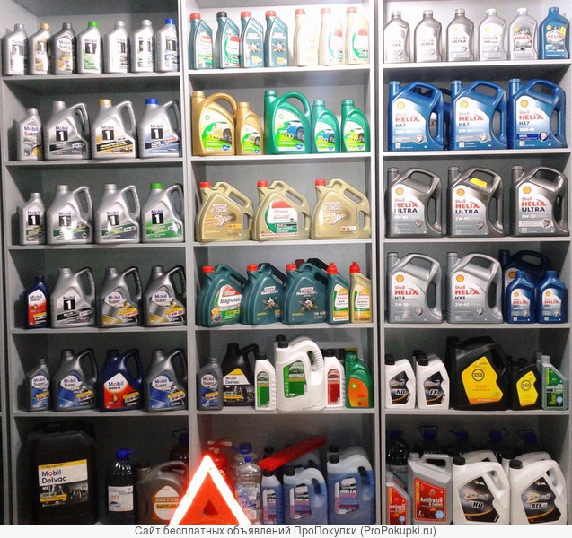 Масло Castrol, BP, Shell, S-Oil (SSU, DRAGON), Mobil, моторные масла