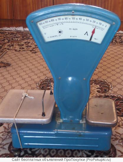 Механические весы.