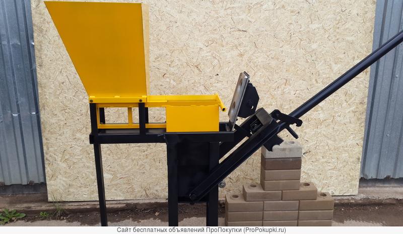 пресс ручной для производства лего кирпича