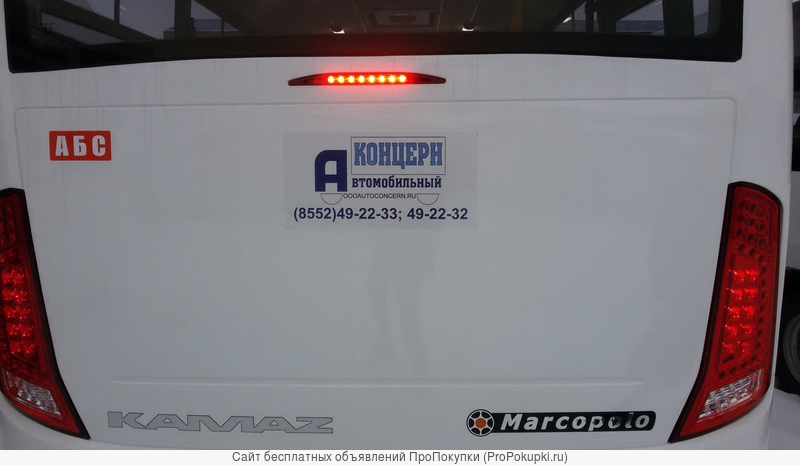 Автобус малого класса до 50 мест KAMAZ-BRAVIS