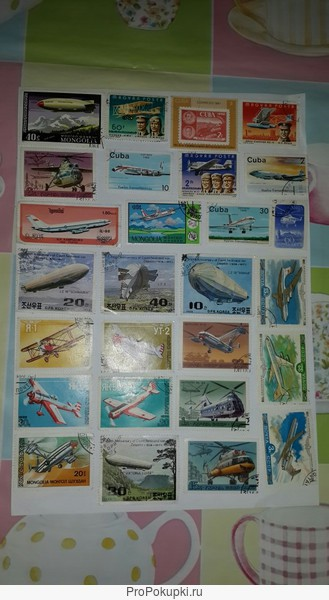 коллекция почтовых марок
