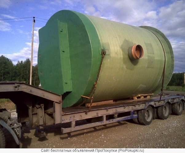 Модульные канализационные станции пром., быт