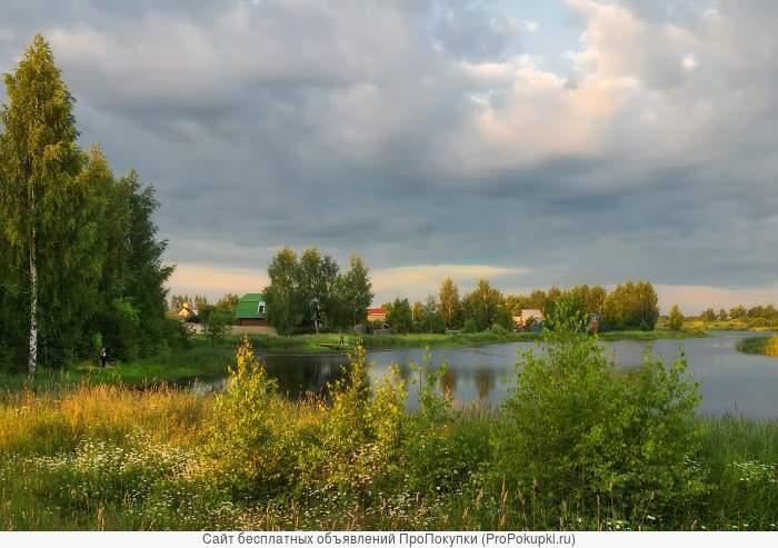 Дачный земельный участок у реки и леса. Дмитровское шоссе. Савеловское навравление.