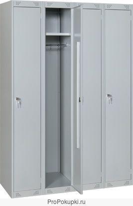 Шкаф металлический для раздевалок 1-2-3-4-5 секционные