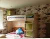Кровать детская (верхний ярус)