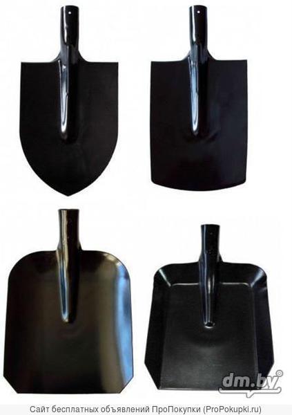 Лопаты совковые и штыковые