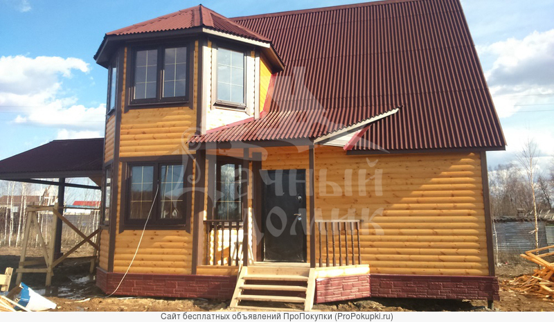 Строительство домов или бань от компании «Дачный Домик»