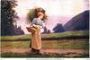 Девушка. С поля. 1917 год.