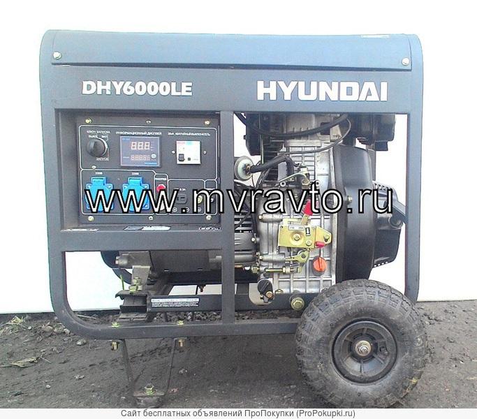Аренда генератора посуточно 5, 5 кВт в СПБ