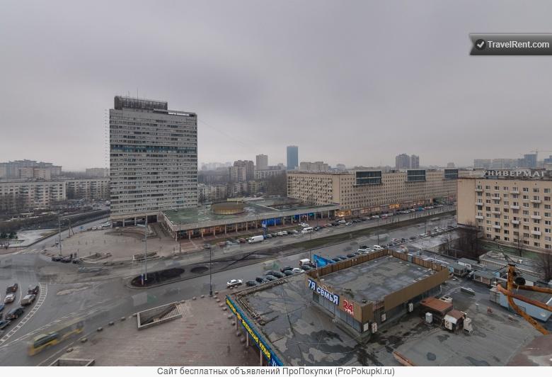 Квартира с видом на Московский проспект у метро Московская
