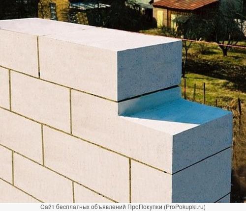 Блок 100% газосиликатный