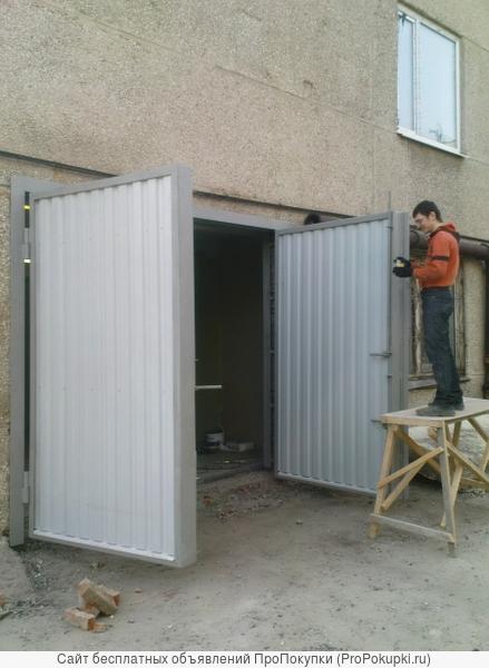 Изготовление Ворот и Дверей по типовым сериям!
