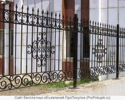 Изготовим и установим ворота и ограждения любой сложности