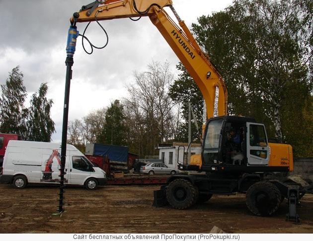 Буровое оборудование Drd-20 (Англия) на экскаваторы 13-25 тонн