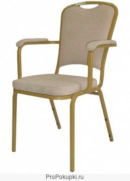 Мягкие банкетные стулья.
