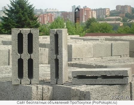 Блок керамзитобетонный 20*20*40