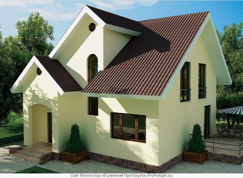 Строительство домов и коттеджей + производство и продажа СИП-панелей