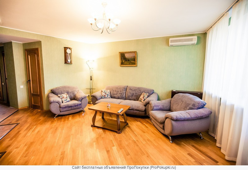 Комфортная современная квартира в тихом спальном районе города