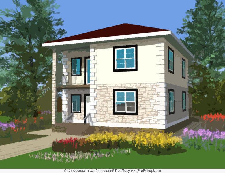 Готовые проекты красивых домов и уютных коттеджей