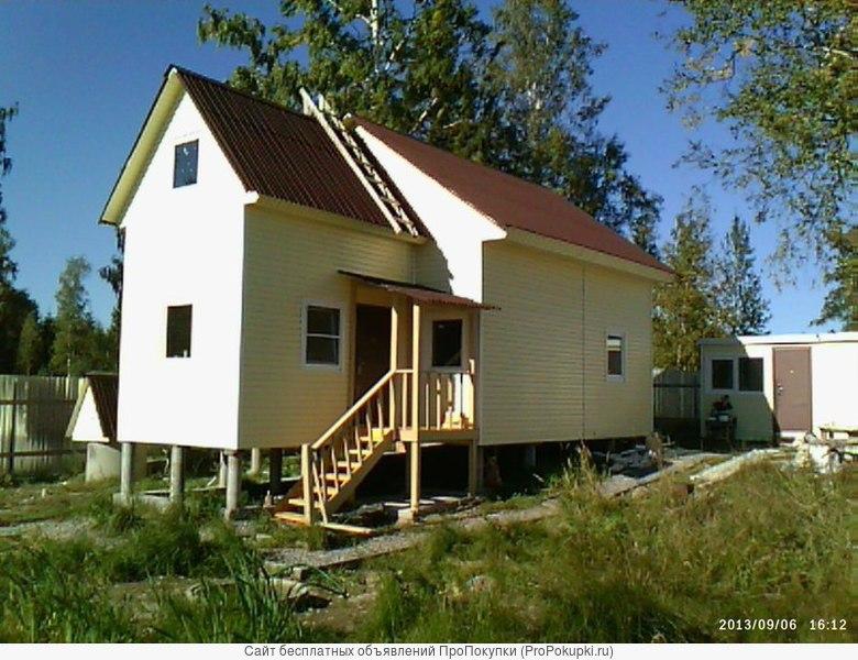 Продам зимний дом на 10 сотках.