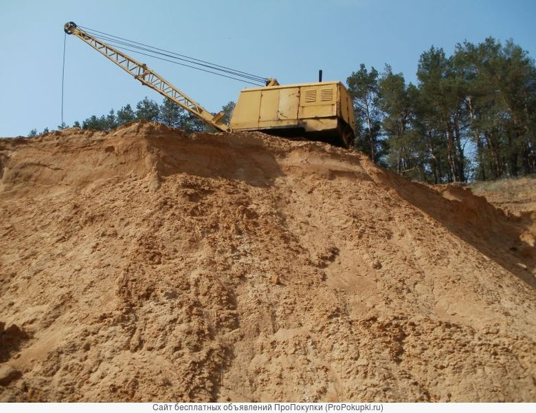 Гравий щебень Песок грунт керамзит