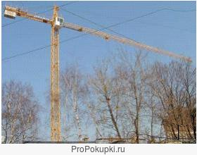 Услуга аренда башенного крана Liebherr 30 LC