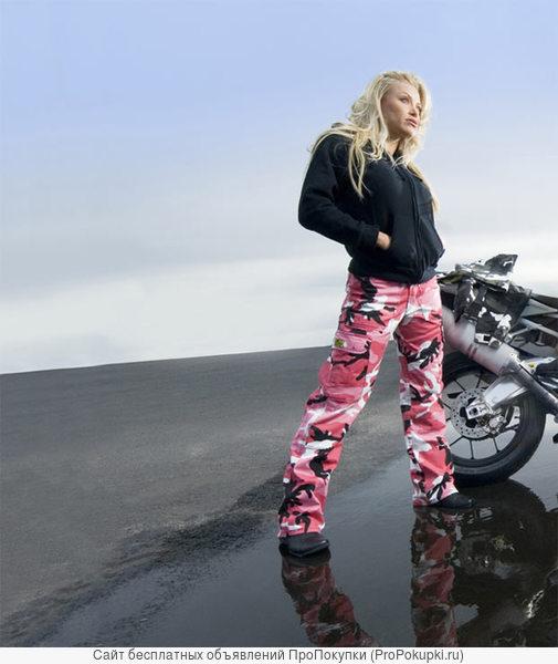 Камуфляжные мотоштаны Draggin Jeans Camo Combat