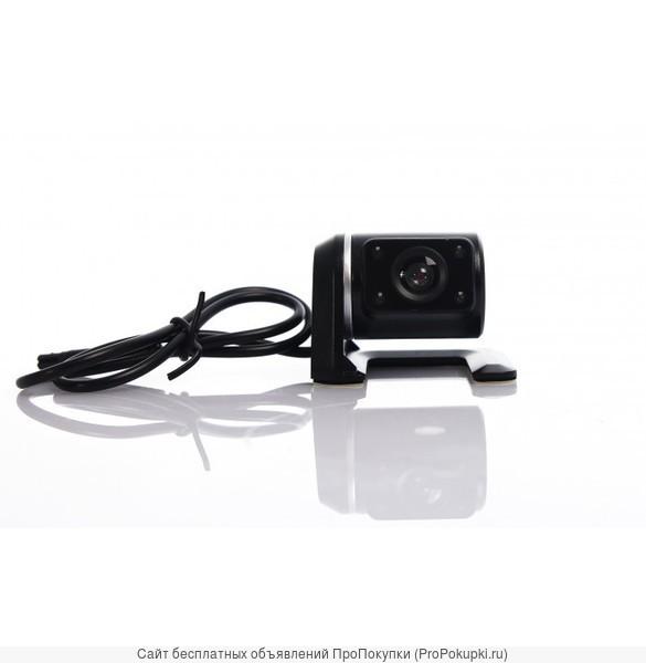 Видеорегистратор CarCam Corder 2 камеры, снимает перед+зад авто