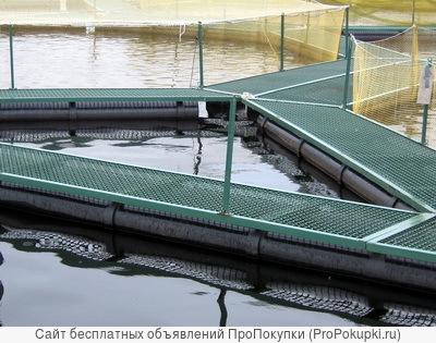 Садки для разведения рыбы. Доставка по России