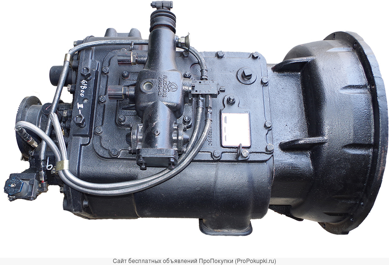 КПП на МАЗ 9JS135A. Фуллер.