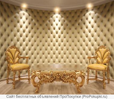 тканевые стеновые панели
