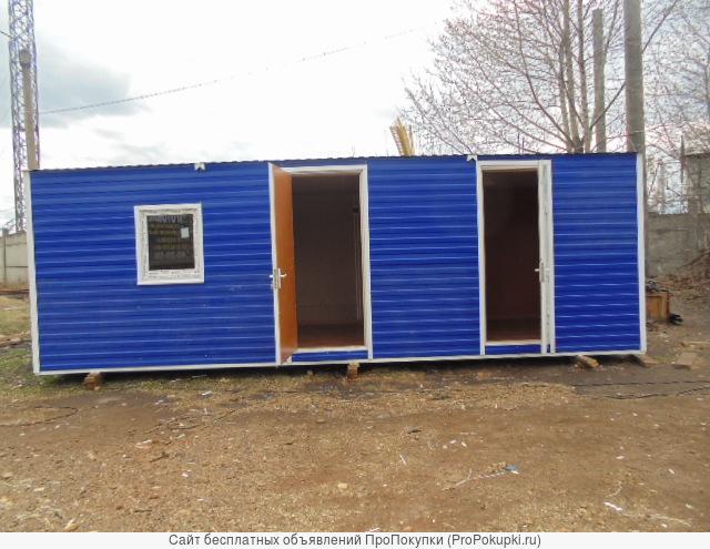 Блок-контейнеры в наличии в Красноярске