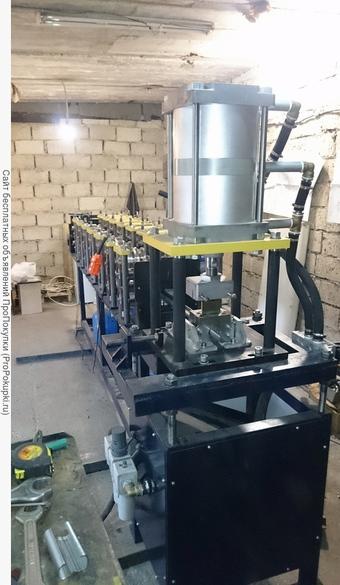 Чертежи оборудования для обработки листовых металлов, профилей и труб