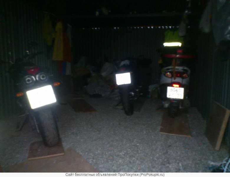 Гараж. Митино. Мото-места в гараже на охраняемой стоянке, видеонаблюдение