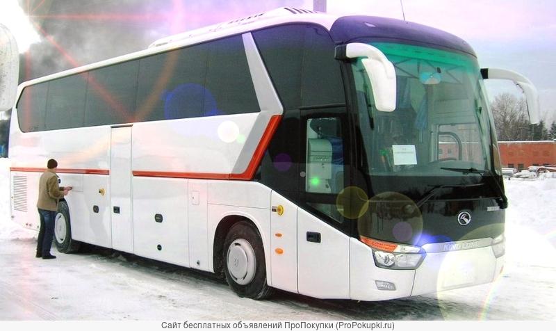 Новый автобус King Long XMQ 6129 Туристический