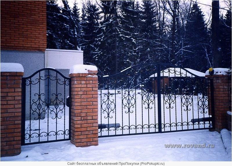 двери решетки навесы заборы