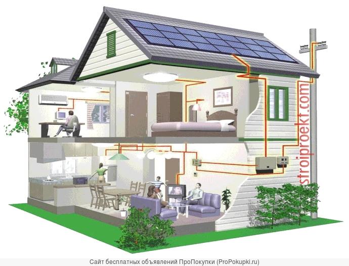 Все виды работ по электромонтажу (проводка в доме)