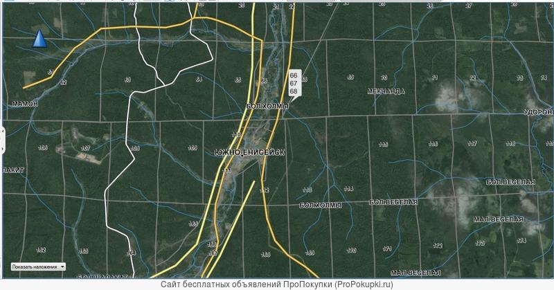Карты для навигаторов Garmin, Navitel, LowRance