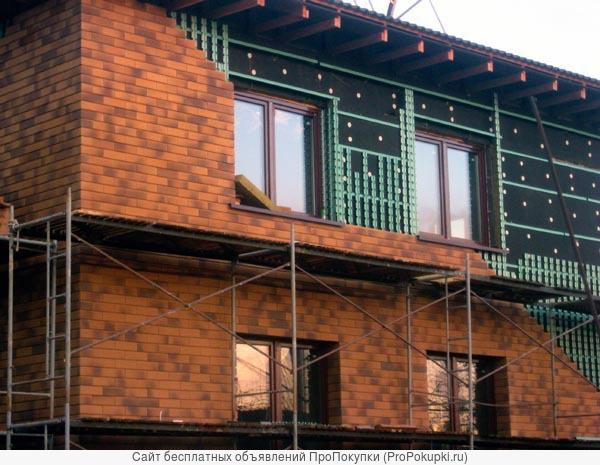 Любые фасады в Пензе. Вентилируемые и мокрые.