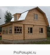 Дом в деревне подмосковья. Дача на участке 10 соток на реке Дубна.