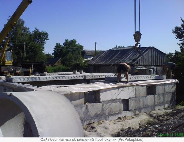 Любые фундаменты. Кладочные, бетонные и монтажные работы в Пензе и области.
