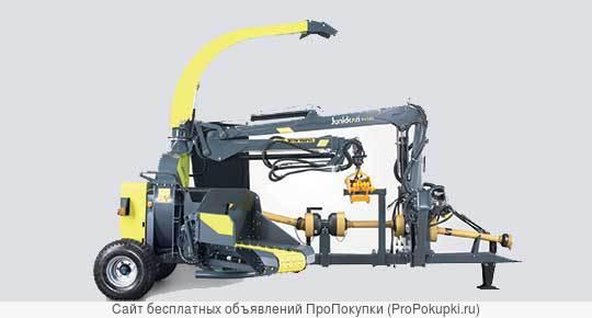 Рубильная машина с манипулятором на МТЗ от Junkkari